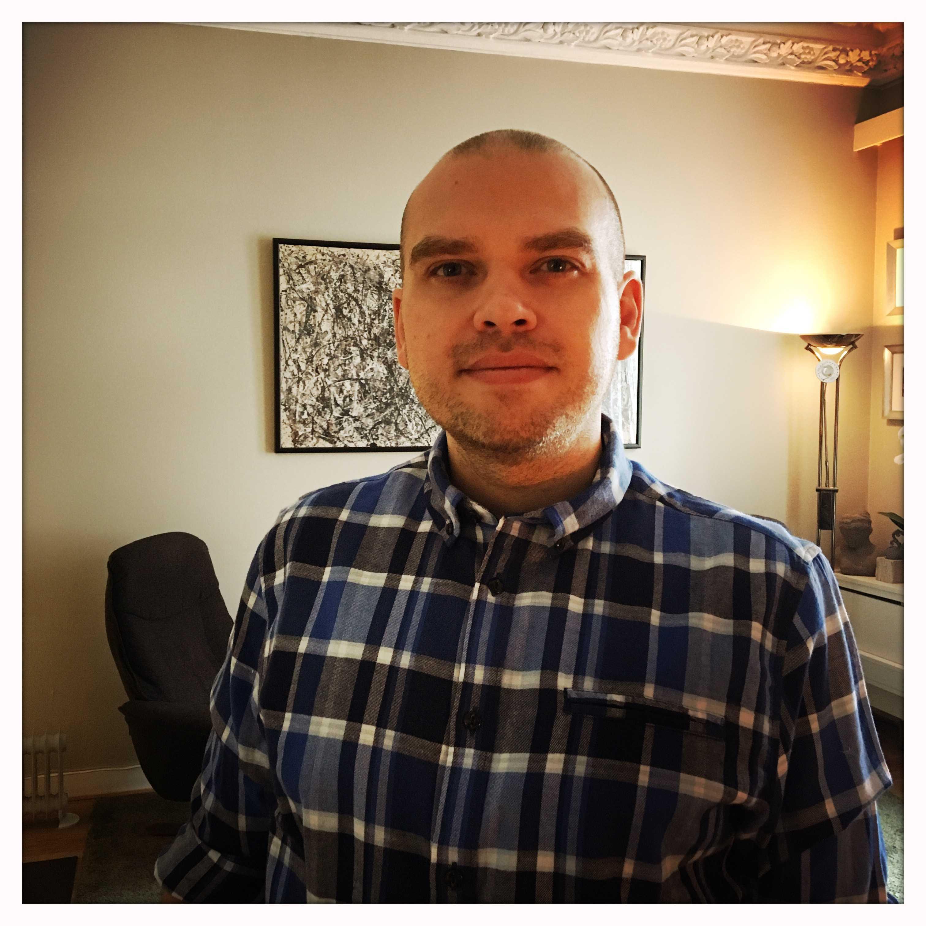 Psykolog Kristian S. Nibe